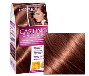 Шоколадное пралине цвет волос