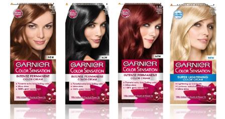 Краска для волос гарньер палитра цветов блонд