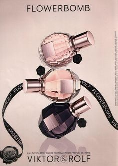 Viktor and rolf flowerbomb ad