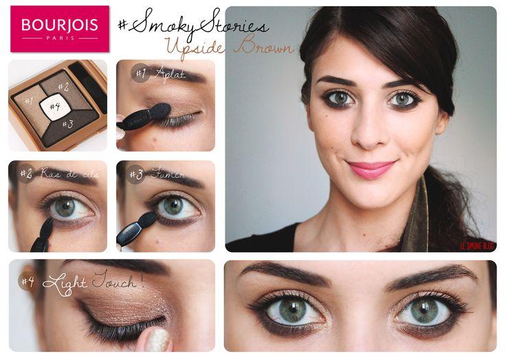 Bourjois макияж глаз