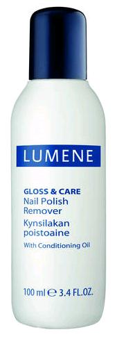 Lumene Gloss & Care Жидкость для снятия лака 100 мл.