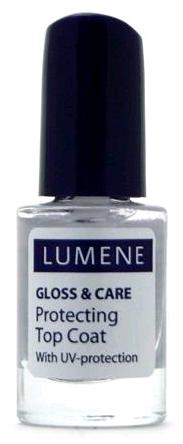 Lumene Gloss & Care Быстросохнущее покрытие для закрепления лака 5 мл.