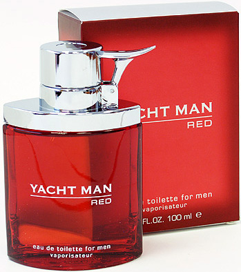 Yacht Man Red Туалетная вода 100 мл.