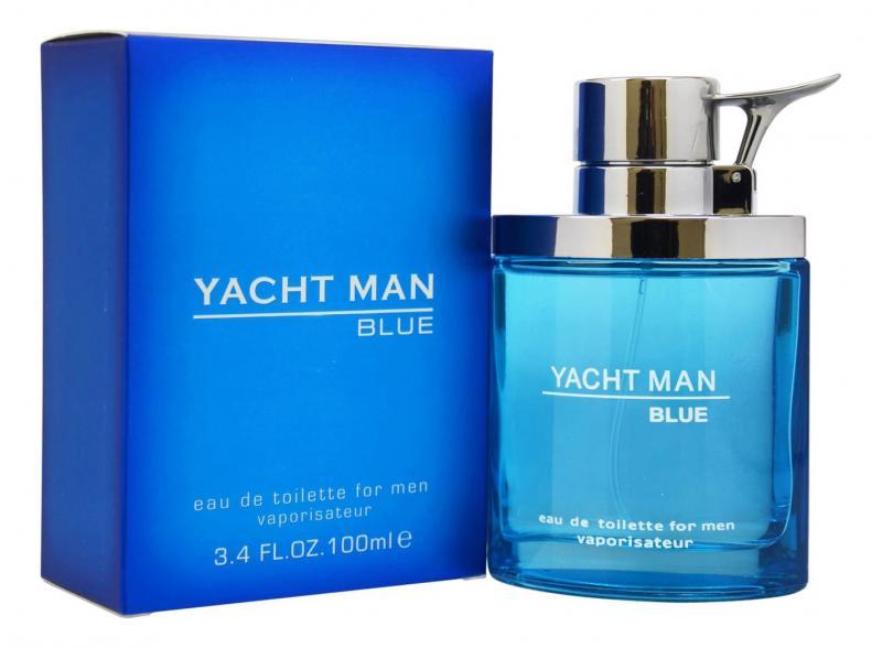 Yacht Man Blue Туалетная вода 100 мл.