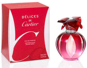 Cartier woman Delices De Cartier Туалетные духи 50 мл.