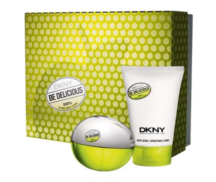 Dkny woman Be Delicious Набор: Туалетные духи 30 мл. + Лосьон д/тела 100 мл.