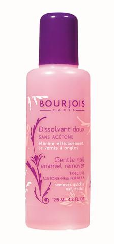 Bourjois Dissolvant Doux A La Keratine Жидкость для снятия лака 125 мл.