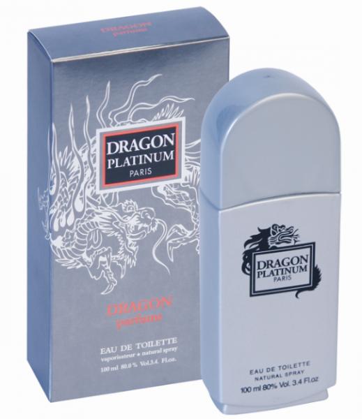 Via Paris Parfums Dragon Platinum men Туалетная вода 100 мл.