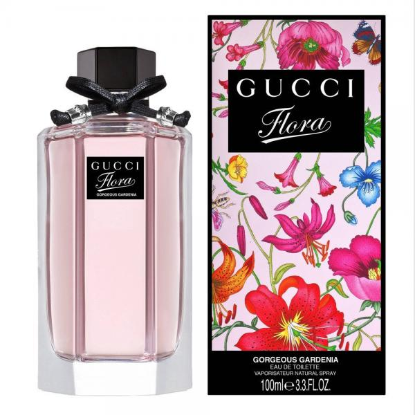 Gucci woman Flora By Gucci Gorgeous Gardenia Туалетная вода 50 мл.