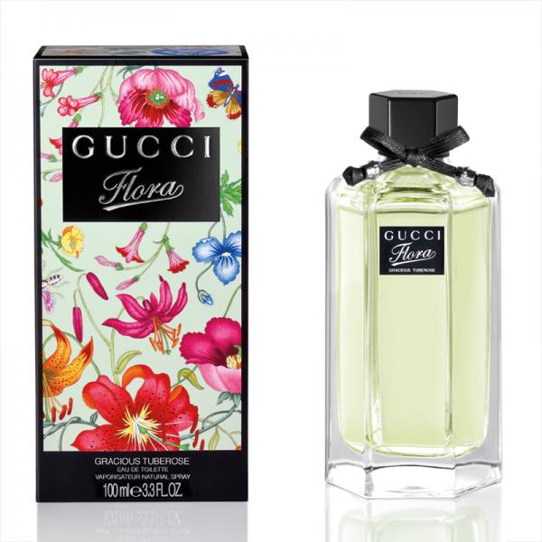 Gucci woman Flora By Gucci Gracious Tuberose Туалетная вода 100 мл.