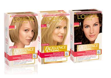 Loreal Excellence Creme Крем-краска для волос №6.41 лесной орех