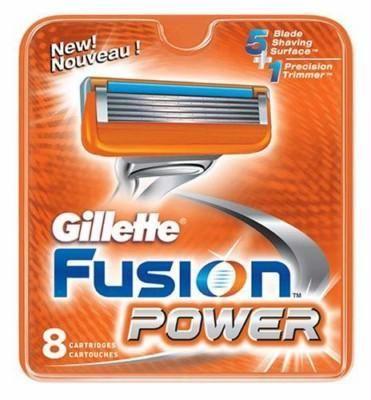 Gillette (P&G) Gillette Fusion Power Кассеты для станков мужские 8 шт.