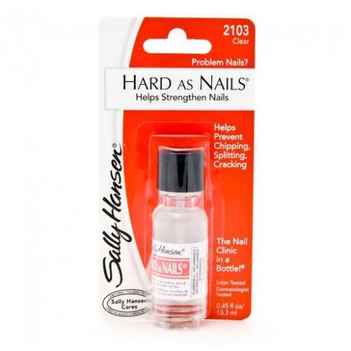 Sally Hansen Hard As Nails Средство для укрепления ногтей №2103 clear (прозрачный)