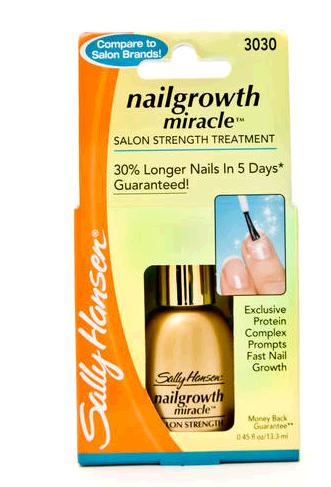 Sally Hansen Nailgrowth Miracle Средство для активизации роста ногтей с протеинами #3030