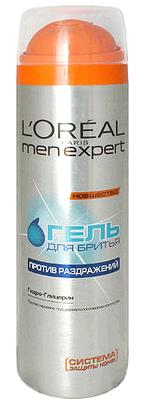 Loreal Men Expert Гель для бритья против раздражения 200 мл.
