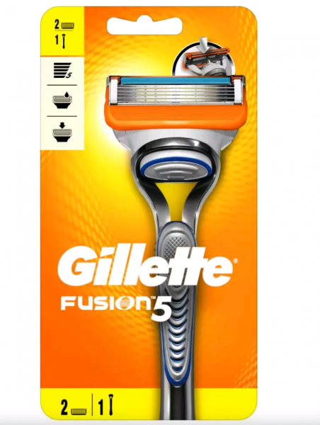 Gillette (P&G) Gillette Fusion Станок для бритья 2 кассеты
