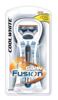 Gillette (P&G) Gillette Fusion Cool White Станок для бритья 1 кассета