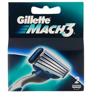 Gillette (P&G) Gillette Mach 3 Кассеты для станков мужские 2 шт.