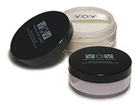Vov Candy Shine Powder Пудра рассыпчатая с эффектом мерцания №033 темно-бежевый