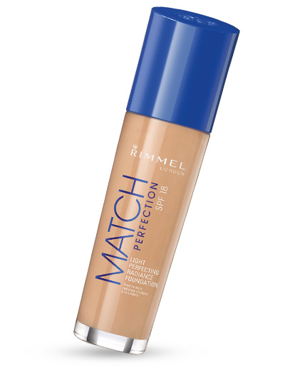 Rimmel Match Perfection Foundation Тональный крем для лица 30 мл. №010 light porcelain