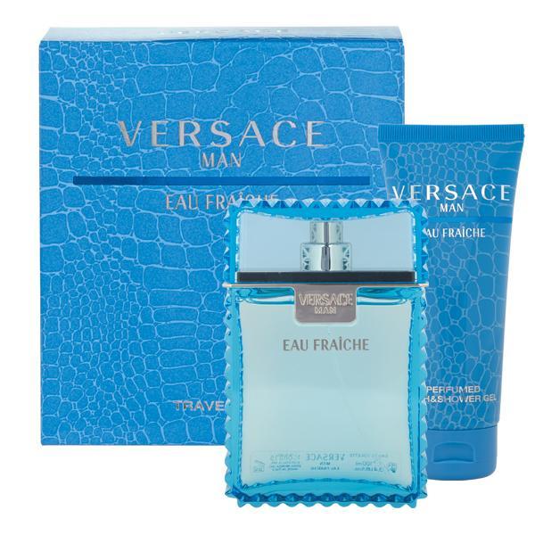 Versace men Eau Fraiche Набор: Туалетная вода 30 мл. + Гель для душа 50 мл.