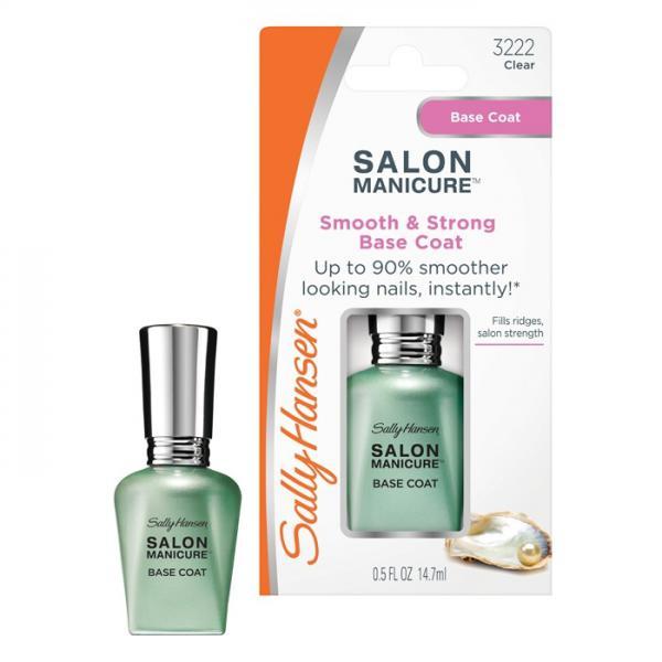 Sally Hansen Salon Manicure Smooss&strong Base Coat Выравнивающее и укрепляющее баз.покр. 14,7мл.