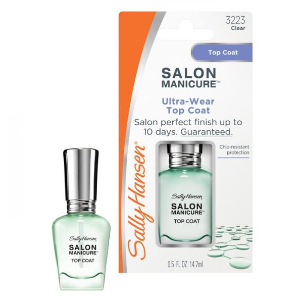 Sally Hansen Salon Manicure Ultra-wear Top Coat Ультра стойкое верхнее покрытие