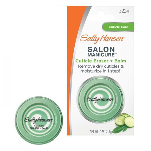 Sally Hansen Salon Manicure Cuticle Eraser + Balm Бальзам для питания и шлифовки кутикулы