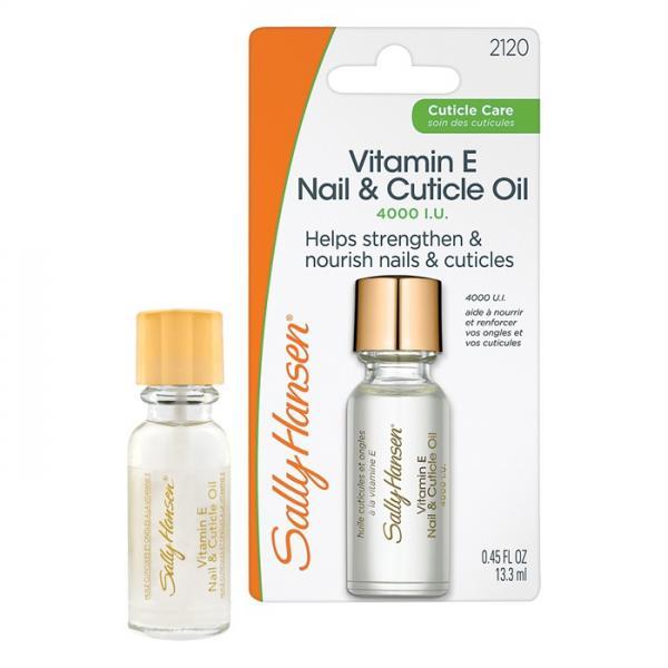 Sally Hansen Vitamin E Nail & Cuticle Oil Масло для ногтей и кутикулы с витамином Е #2120