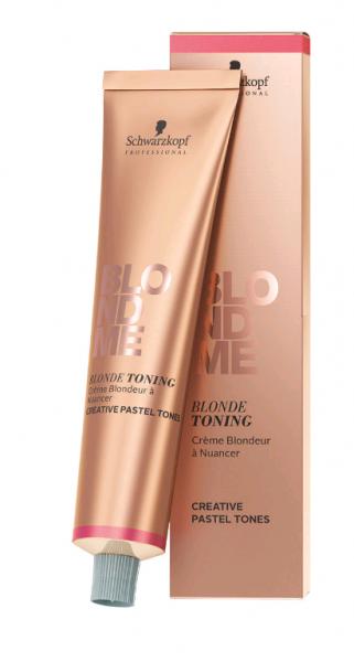 Schwarzkopf Professional Blondme Blonde Toning Крем-тонер 60 мл. lilac (сирень)