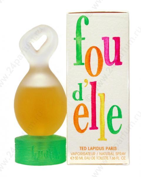 Ted Lapidus woman Fou D`elle Туалетная вода 100 мл.
