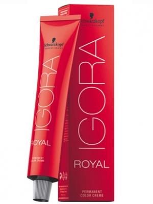 Schwarzkopf Professional Igora Royal Крем-краска для волос №7-77 средне-русый медный экстра New