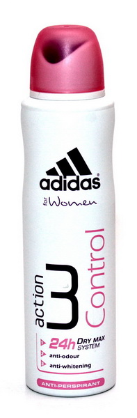 Adidas woman (deo) Action 3 Dry Max Control Дезодорант 150 мл.