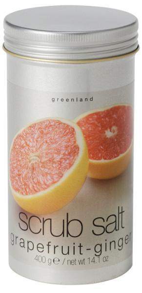 Greenland Fruit Emotions Скраб-соль 400 г. грейпфрут-имбирь