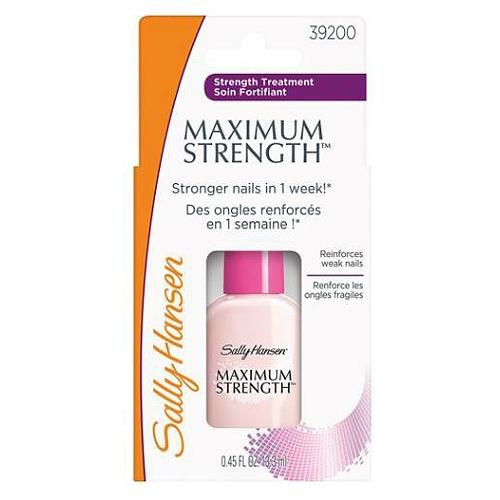 Sally Hansen Maximum Strength Средство для укрепления и защиты слабых ногтей