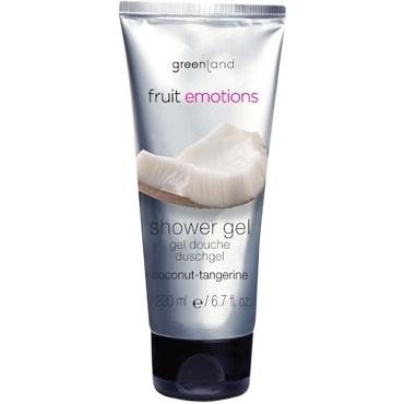 Greenland Fruit Emotions Гель для душа 200 мл. кокос-мандарин