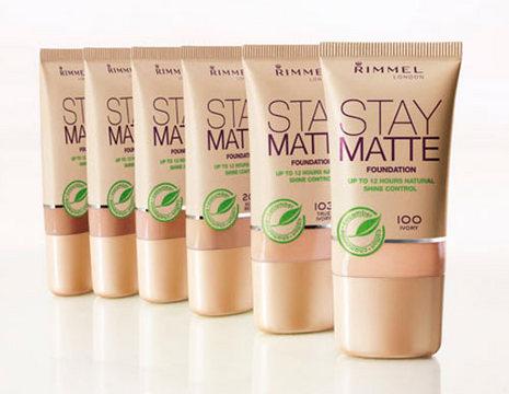 Rimmel Stay Matte Foundation Матирующий тональный крем для лица 30 мл. №010