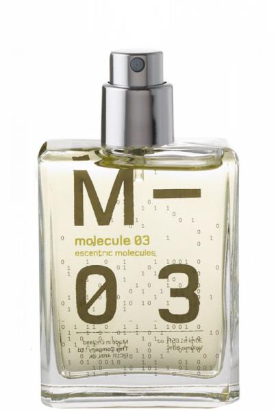 Escentric Molecules unisex Molecule 03 Туалетная вода 30 мл. (запаска)