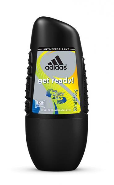 Adidas men (deo-rol) Get Ready! Дезодорант-роликовый 50 мл.