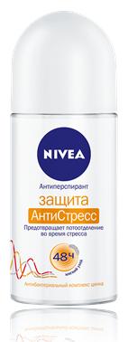 Nivea Защита Антистресс Дезодорант-роликовый 50 мл.
