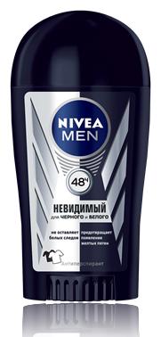 Nivea Men Невидимый Для Черного И Белого Дезодорант-стик 40 мл.