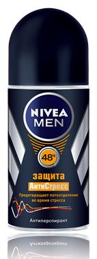 Nivea Men Защита Антистресс Дезодорант-роликовый 50 мл.