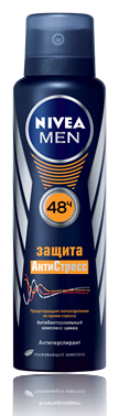Nivea Men Защита Антистресс Дезодорант 150 мл.