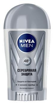 Nivea Men Серебрянная Защита Дезодорант-стик 40 мл.