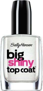 Sally Hansen Big Shiny Top Coat Верхнее покрытие для создания глянцевого эффекта