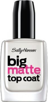 Sally Hansen Big Matte Top Coat Верхнее покрытие для создания матового эффекта