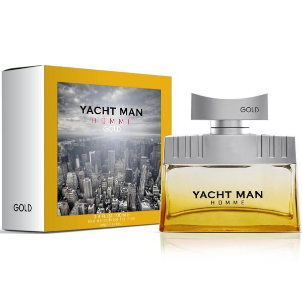 Yacht Man Gold Туалетная вода 100 мл.