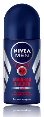 Nivea Men Мощная Защита Дезодорант-роликовый 50 мл.