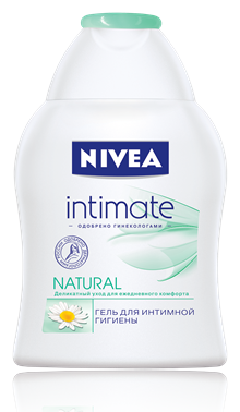 Nivea Intimate Natural Гель для душа 250 мл.