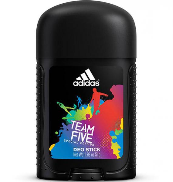 Adidas men (deo-st) Team Five Дезодорант-стик 51 г.